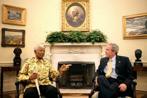 Bush_Mandela